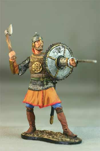 Русские воины 10-16 веков.Полуколекционный покрас