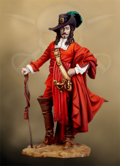 Пираты и мушкетеры Полуколлекционный покрас