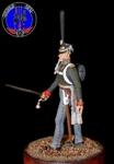 Офицер гвардейских пехотных полков 1812 г .Россия