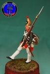 Мушкетер гвардейских пехотных полков 1799 г.Россия