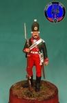 Гренадер Санкт-Петербургского легиона 1770 г Россия