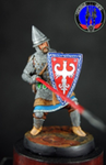 Русский воин второй линии 1242 г