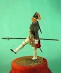 Офицер гвардейских пехотных полков . Россия 1799 г