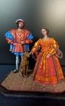 Франциск 1 и Клод . Французская династия Валуа 1513 г