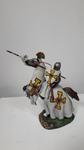 Рыцарь Тевтонского ордена на коне