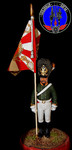 Прапорщик лейб гвардии 1804 г