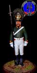 Фельдфебель лейб гвардии 1804 г