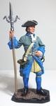 Швед - артиллерист. 18 век.