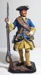 Швед - мушкетер. 18 век.