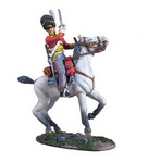 WATERLOO CAMPAIGN BRITISH SCOTS GREY TROOPER SLASHING