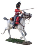 BRITISH SCOTS GREY OFFICER CHARGING NO.1