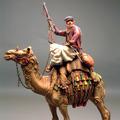 Араб на верблюде с ружьём