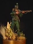 Британский стрелок 95 легкого пехотного полка 1807-15 гг