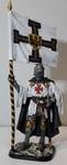 Тевтонский рыцарь со знаменем