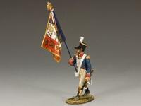 Армия Наполеона линейный знаменосец