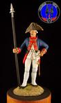 Унтер-офицер Мушкетерского полка 1756-61 гг
